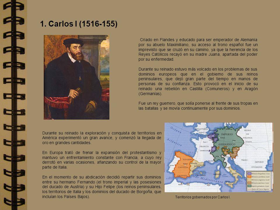 Se concentró en los asuntos hispanos y centralizó la administración de sus extensos domininios desde el Palacio que mandó construir en El Escorial.