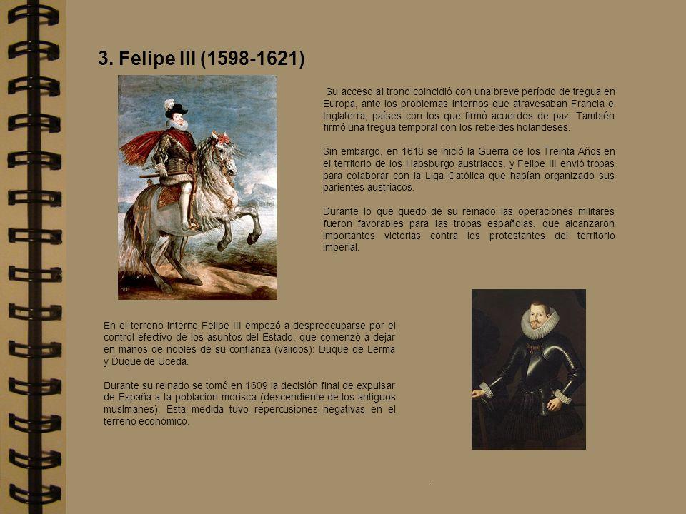 Su acceso al trono coincidió con una breve período de tregua en Europa, ante los problemas internos que atravesaban Francia e Inglaterra, países con l