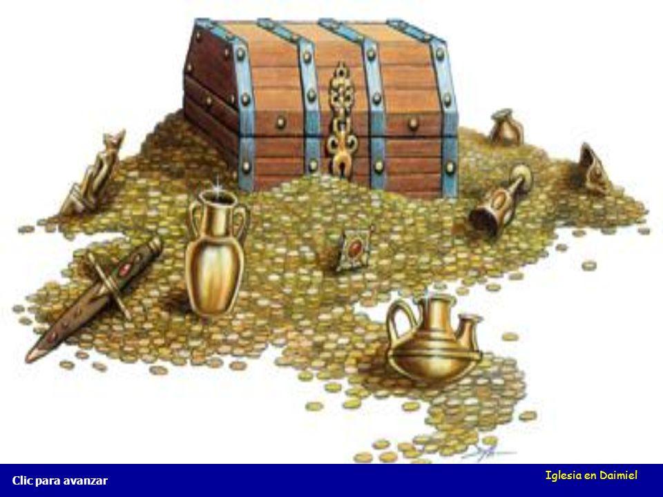 Iglesia en Daimiel El tesoro escondido Mt 13, 44 El tesoro escondido Mt 13, 44 Clic para avanzar...el hombre lo encuentra,......el hombre lo encuentra