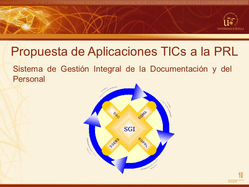 Propuesta de Aplicaciones TICs a la PRL Sistema de Gestión Integral de la Documentación y del Personal