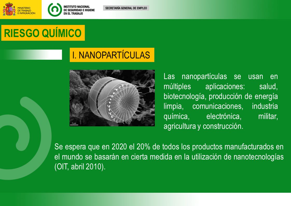 Las nanopartículas se usan en múltiples aplicaciones: salud, biotecnología, producción de energía limpia, comunicaciones, industria química, electrónica, militar, agricultura y construcción.