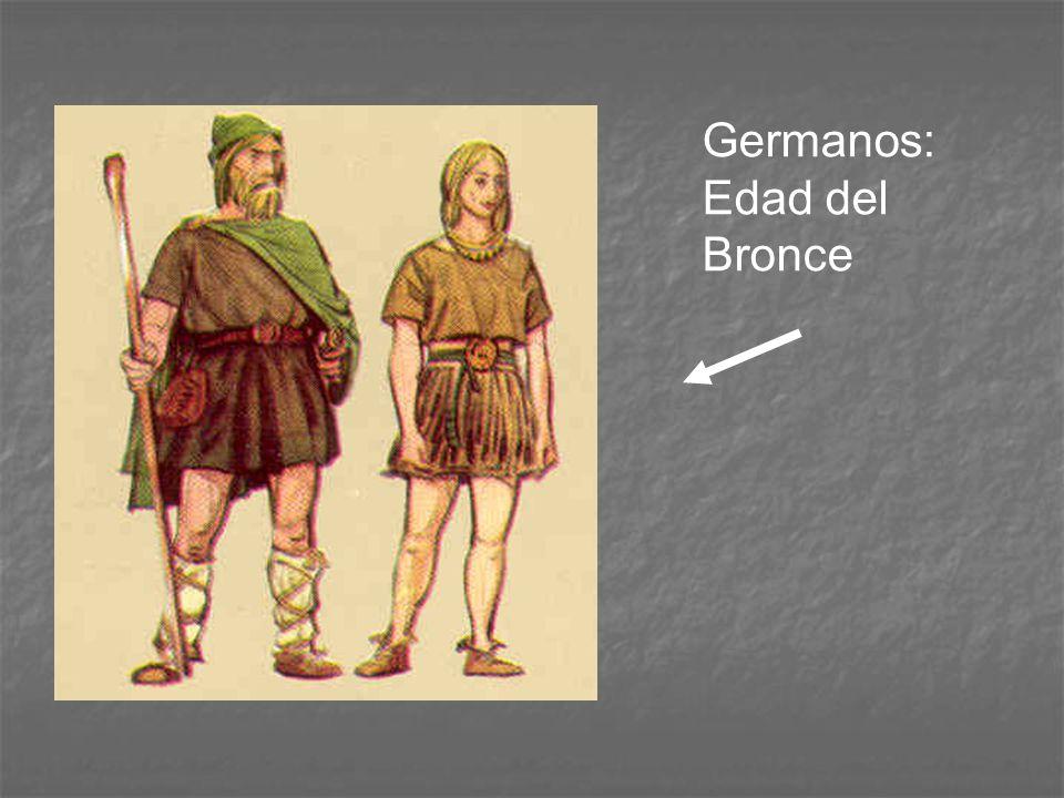 Germanos: Edad del Bronce