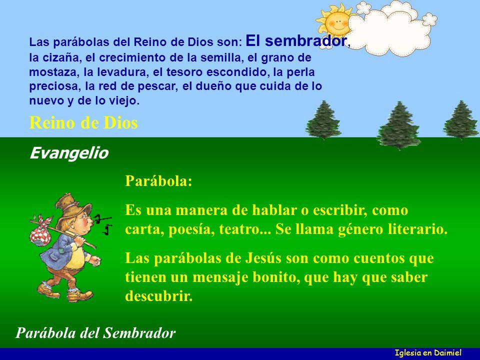 Parábola: Es una manera de hablar o escribir, como carta, poesía, teatro...