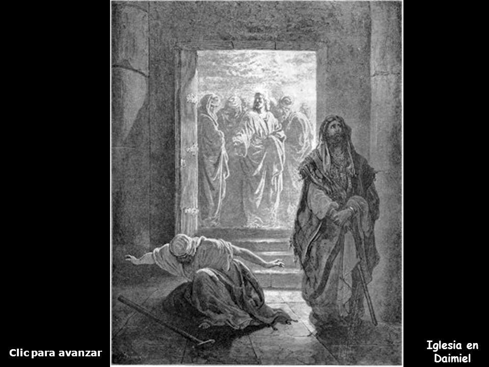 Clic para avanzar Iglesia en Daimiel Parábola del fariseo y el publicano Tienes más presentaciones...