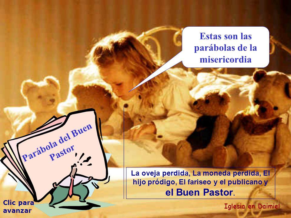 Clic para avanzar Iglesia en Daimiel El Buen Pastor Así como el buen pastor está dispuesto a morir para salvar a sus ovejas, también yo estoy dispuesto a morir para salvar a mis seguidores.