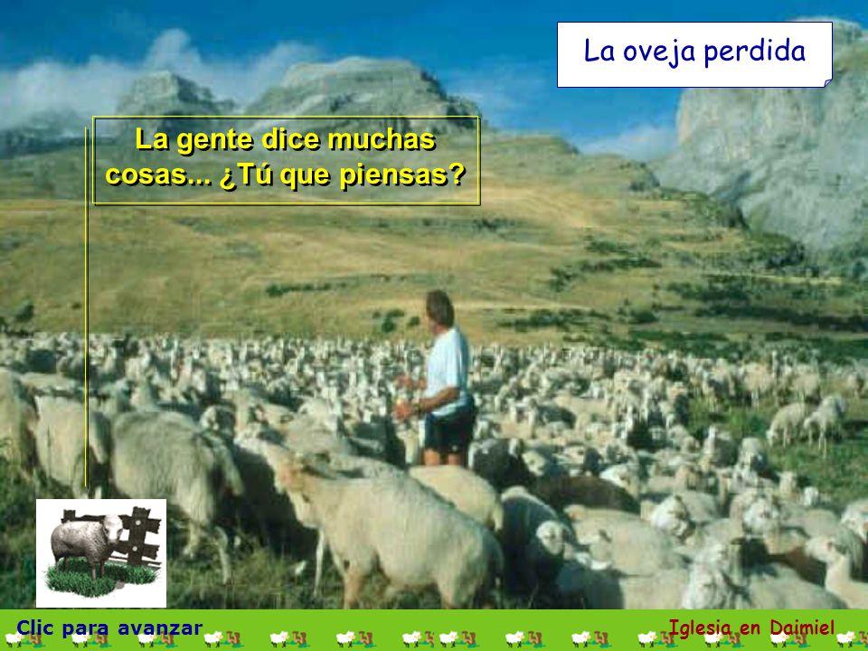 Clic para avanzar Iglesia en Daimiel La oveja perdida Es una historia bonita y con mucho contenido.