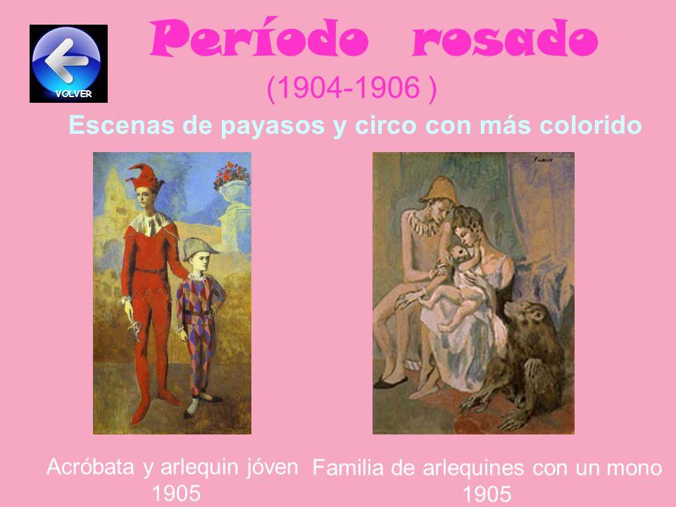 La tragedia 1903 Período azul (1900-1904 ) Personas delgadas y tristes Viejo guitarrista 1903 VOLVER