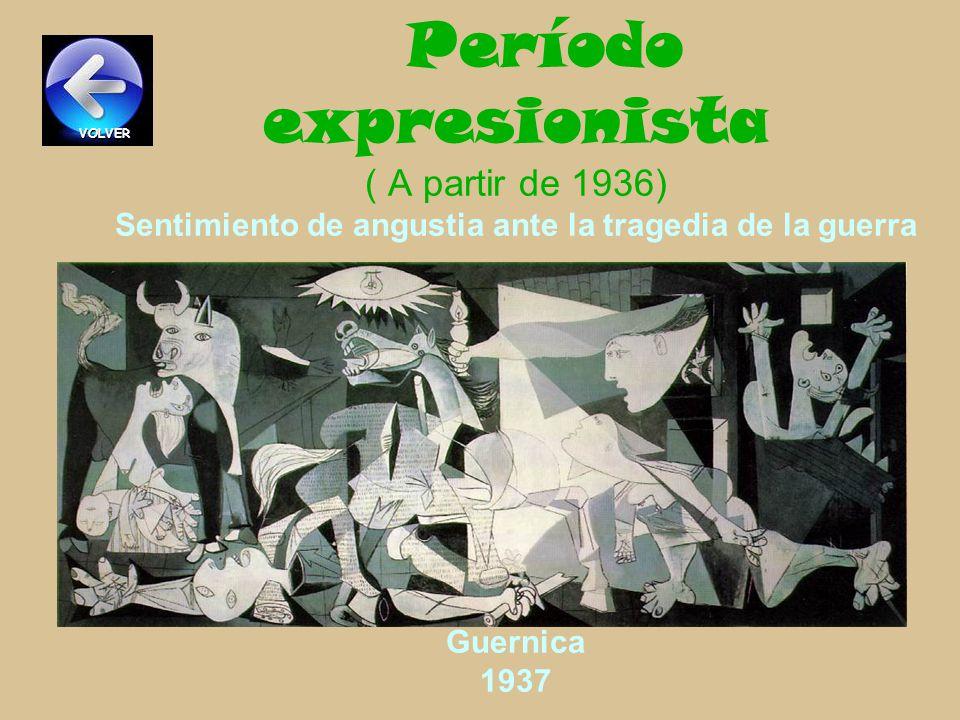 Período surrealista (1928-1932 ) Representa lo monstruoso y mitológico El sueño 1932 VOLVER