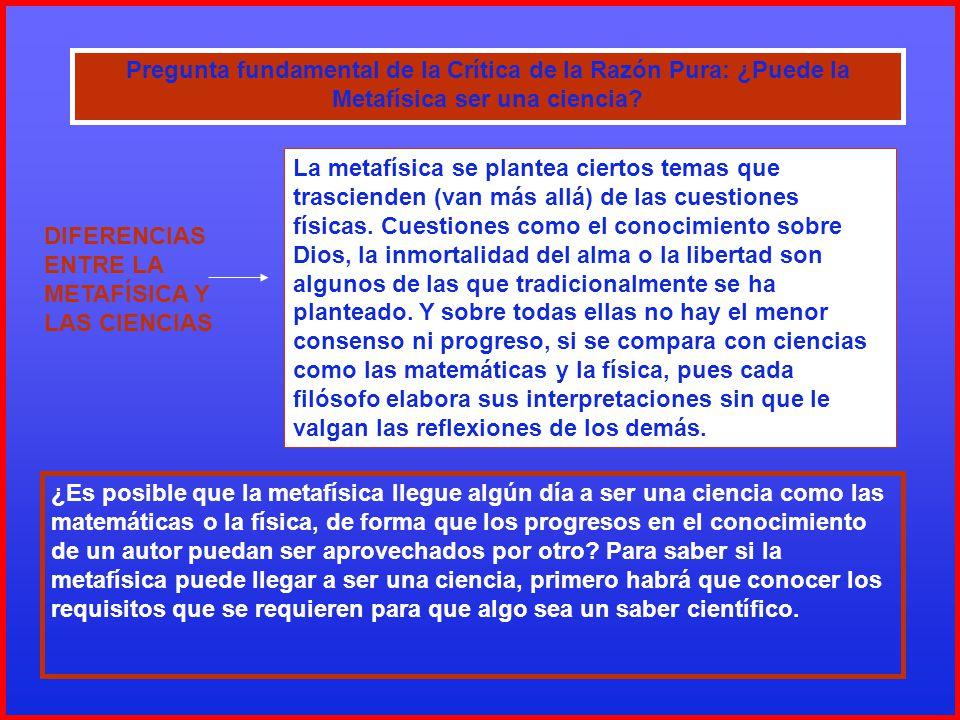 LA FUNDAMENTACIÓN DE LAS CIENCIAS (CUADRO GENERAL)