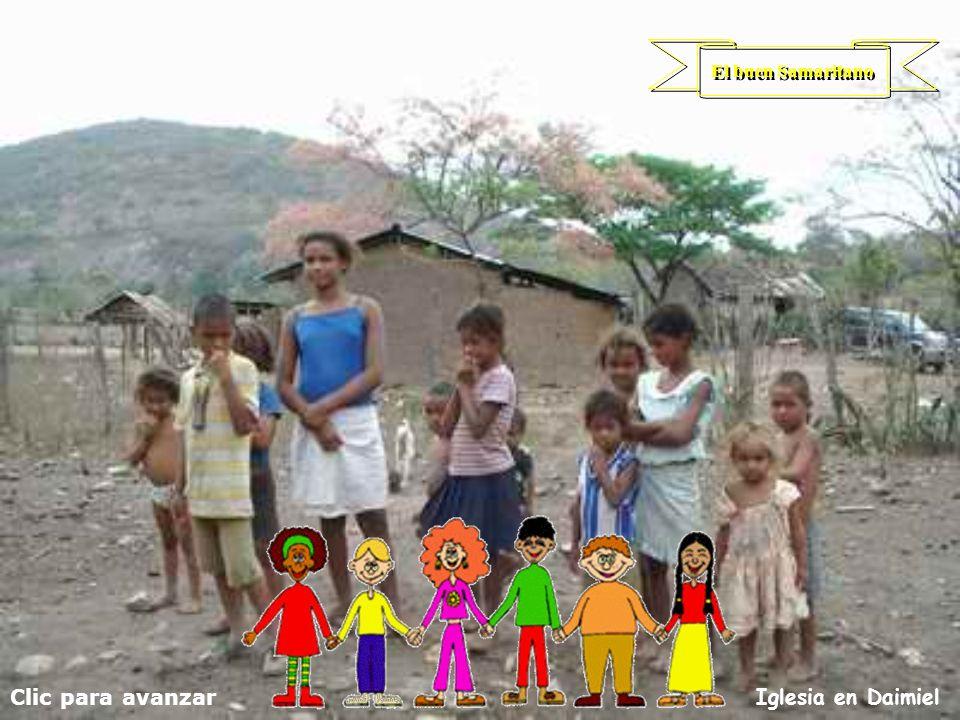 Clic para avanzar Iglesia en Daimiel El buen Samaritano
