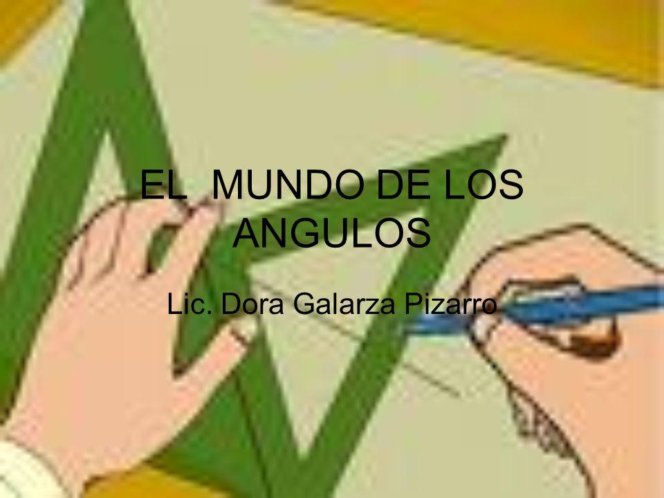 QUE SON LOS ANGULOS Un ángulo es la región del plano comprendida entre dos semirrectas con origen común.