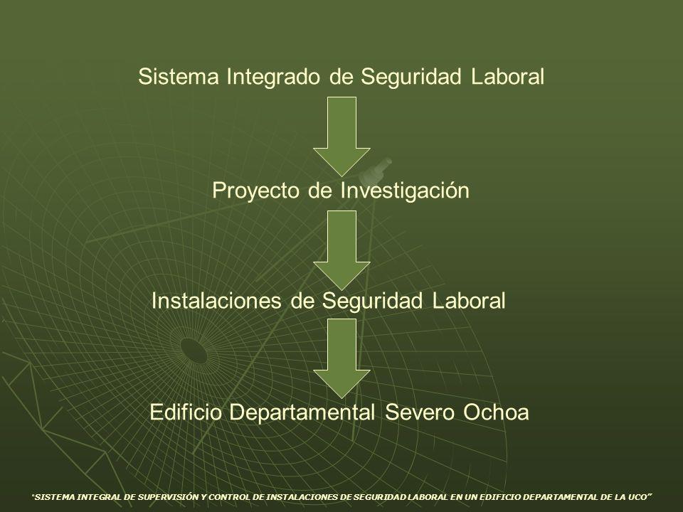 SISTEMA INTEGRAL DE SUPERVISIÓN Y CONTROL DE INSTALACIONES DE SEGURIDAD LABORAL EN UN EDIFICIO DEPARTAMENTAL DE LA UCO Sistema Integrado de Seguridad