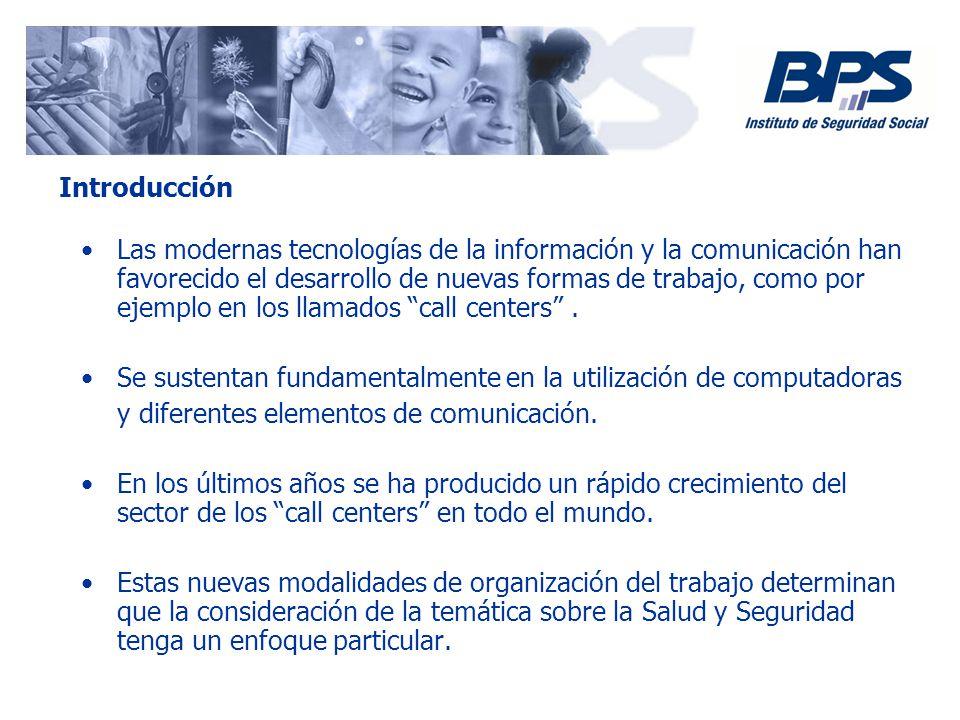 Las modernas tecnologías de la información y la comunicación han favorecido el desarrollo de nuevas formas de trabajo, como por ejemplo en los llamado