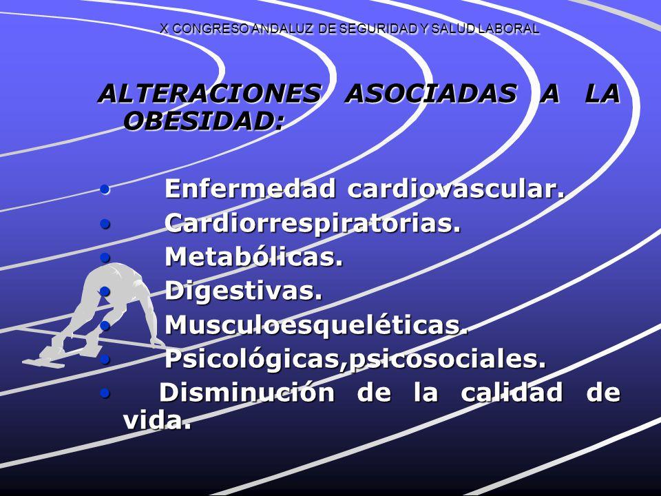 X CONGRESO ANDALUZ DE SEGURIDAD Y SALUD LABORAL AGENCIA EUROPEA PARA LA SEGURIDAD Y LA SALUD EN EL TRABAJO: NUEVOS RIESGOS EMERGENTES : NUEVOS RIESGOS EMERGENTES : FALTA DE EJERCICIO FÍSICO