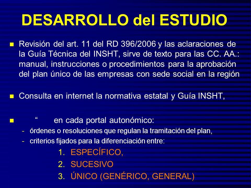 FUENTES DE INFORMACIÓN n Las 17 CC.AA.