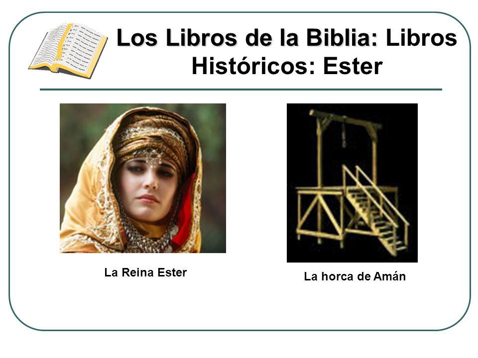 Los Libros de la Biblia: Los Libros de la Biblia: Libros Históricos: Ester La Reina Ester La horca de Amán