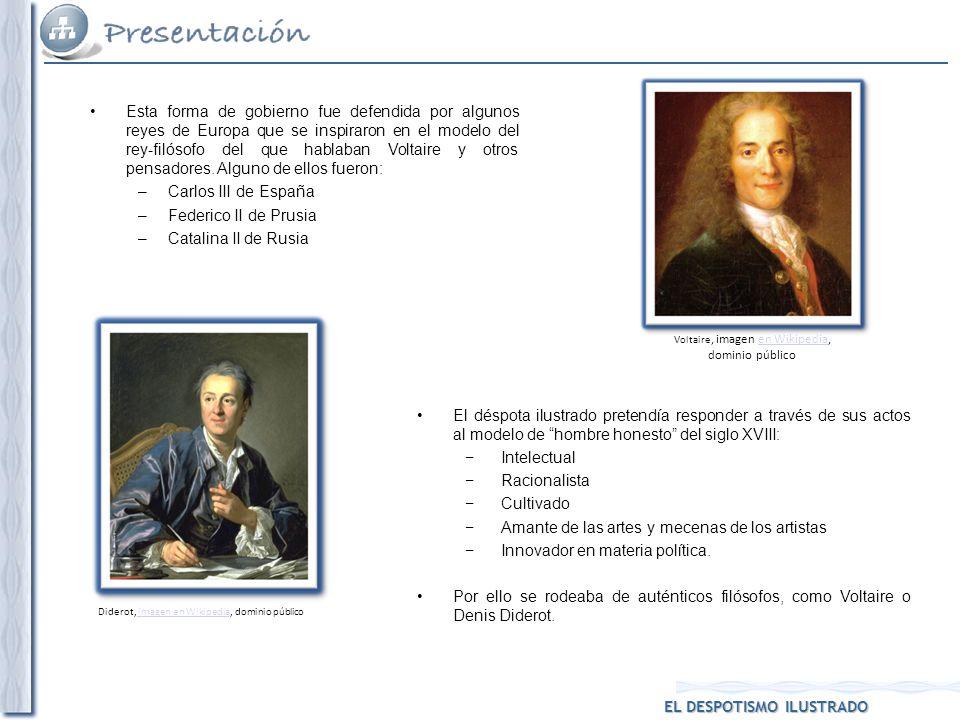 Esta forma de gobierno fue defendida por algunos reyes de Europa que se inspiraron en el modelo del rey-filósofo del que hablaban Voltaire y otros pen