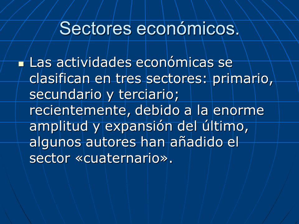 El sector Primario.