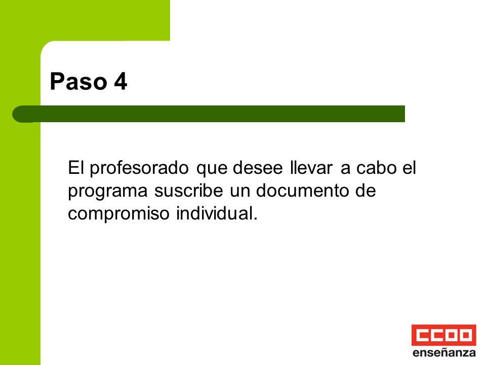 Paso 3 El Equipo Directivo elaborará los objetivos educativos y recogerá el peso para cada uno de los indicadores que se especifican en el Anexo I de
