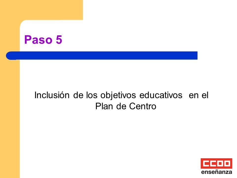 Paso 4 El profesorado que desee llevar a cabo el programa suscribe un documento de compromiso individual.