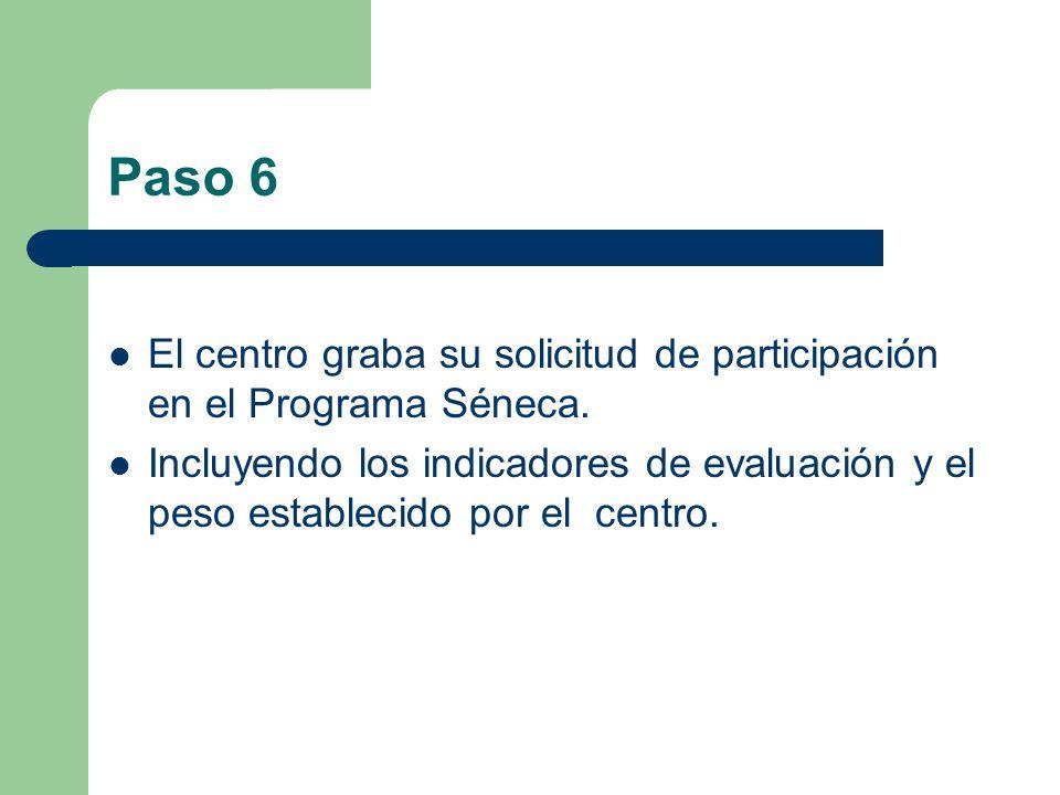Paso 5 Inclusión de los objetivos educativos en el Plan de Centro