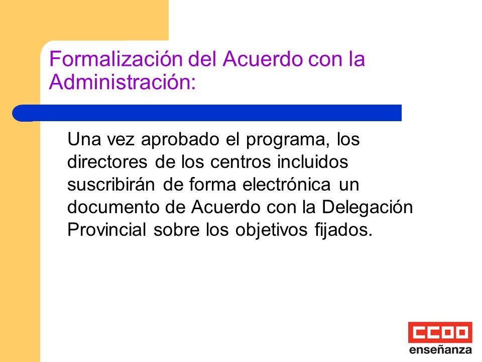 ¿Quién seleccionará los centros? Una Comisión Técnica de la Agencia Andaluza de Evaluación: estudiará las solicitudes, pudiendo proponer cambios en lo