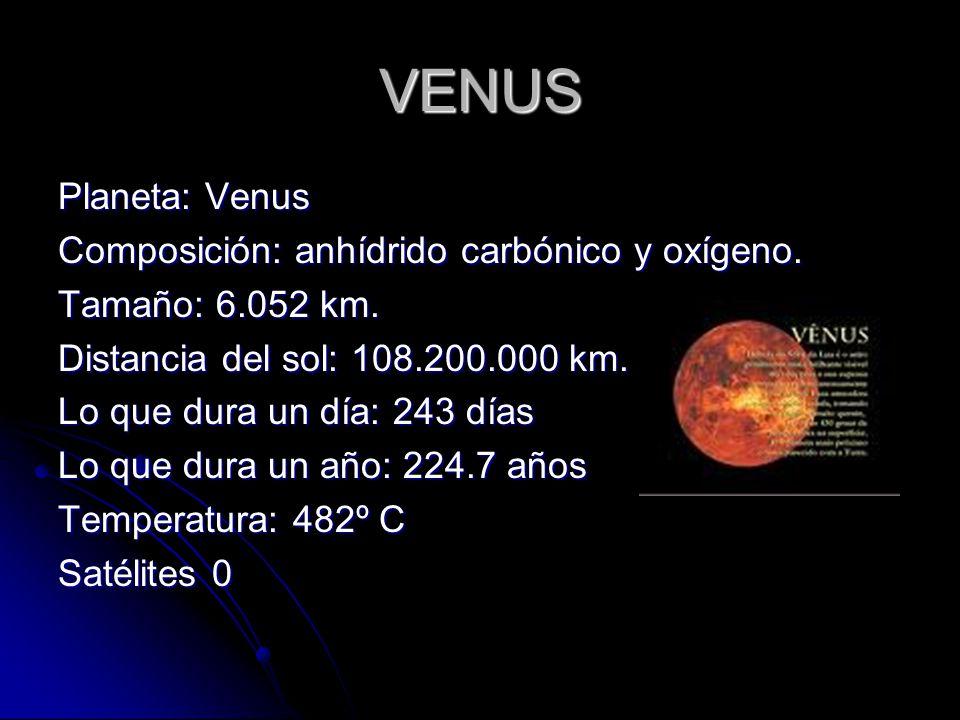 LA LUNA Tamaño: 1.737 Km de radio.Tamaño: 1.737 Km de radio.