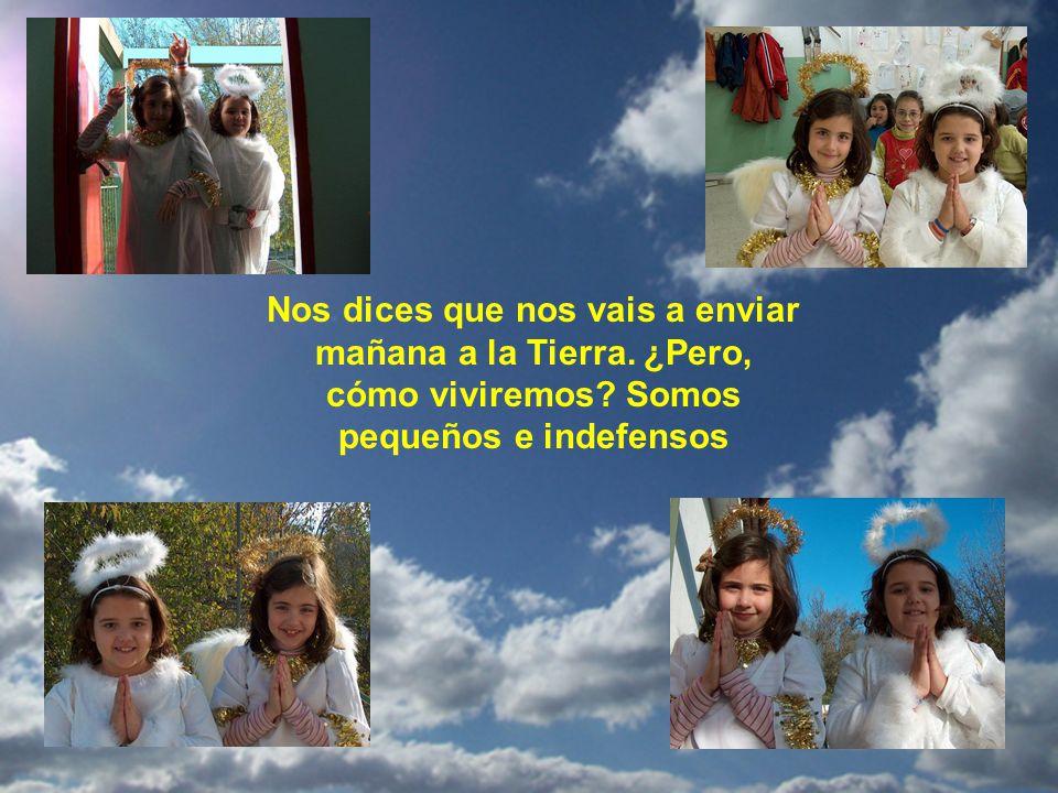 En ese instante, una gran paz reinaba en el cielo pero ya se oían voces terrestres, y los niños presurosos repetían con lágrimas en sus ojitos, sollozando...