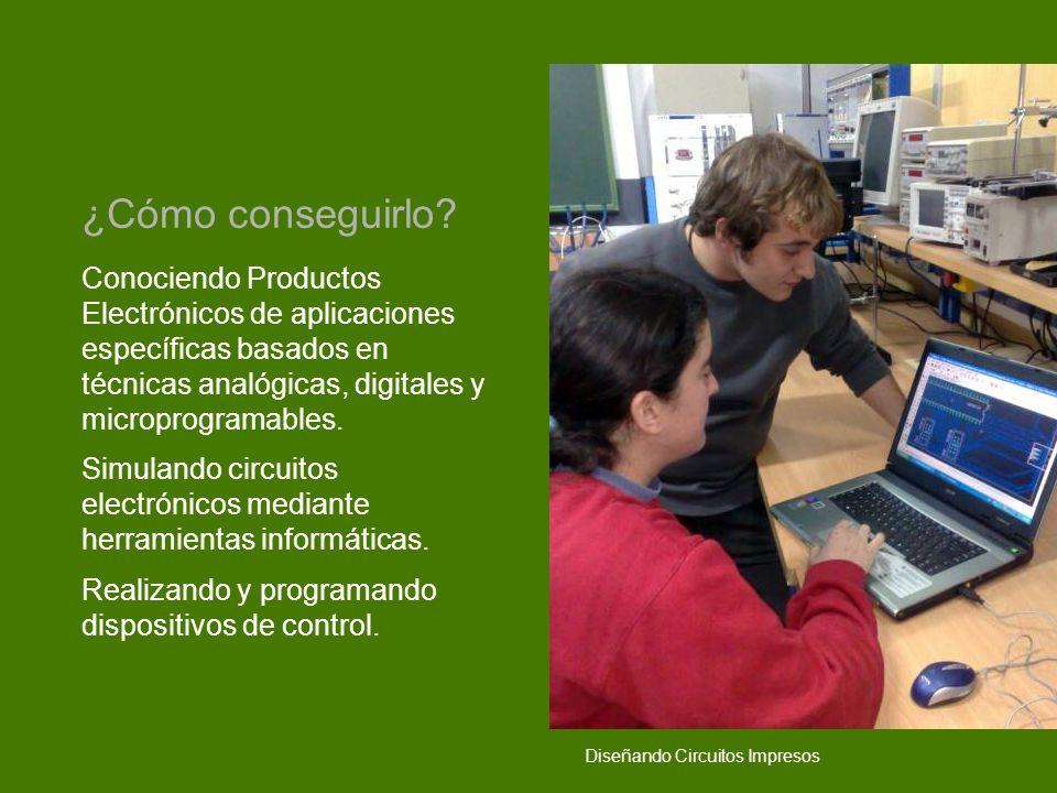Conociendo Productos Electrónicos de aplicaciones específicas basados en técnicas analógicas, digitales y microprogramables. Simulando circuitos elect