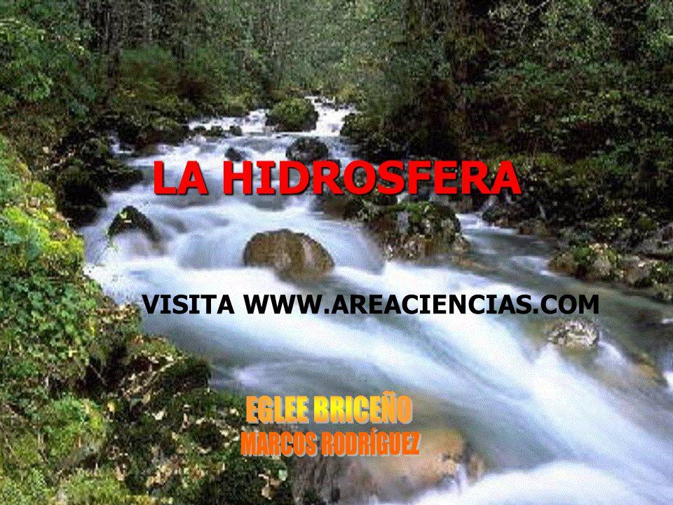 LA HIDROSFERA VISITA WWW.AREACIENCIAS.COM
