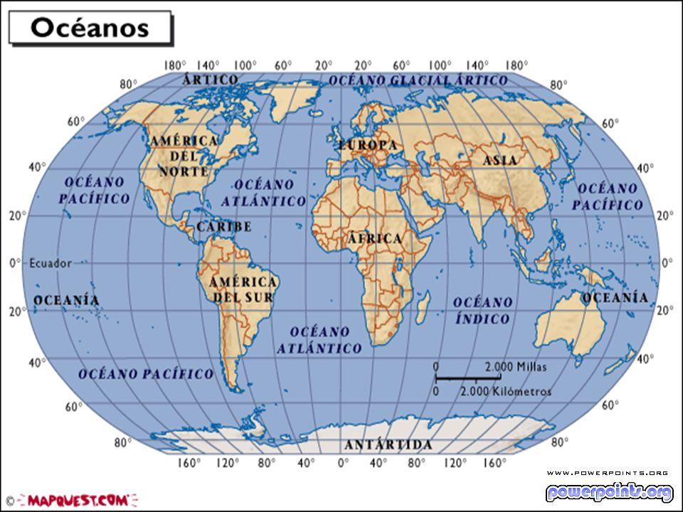 Movimiento constante de las aguas de los océanos influencia de la energía solar Influencia de la rotación de la Tierra, y la hora solar-lunar.