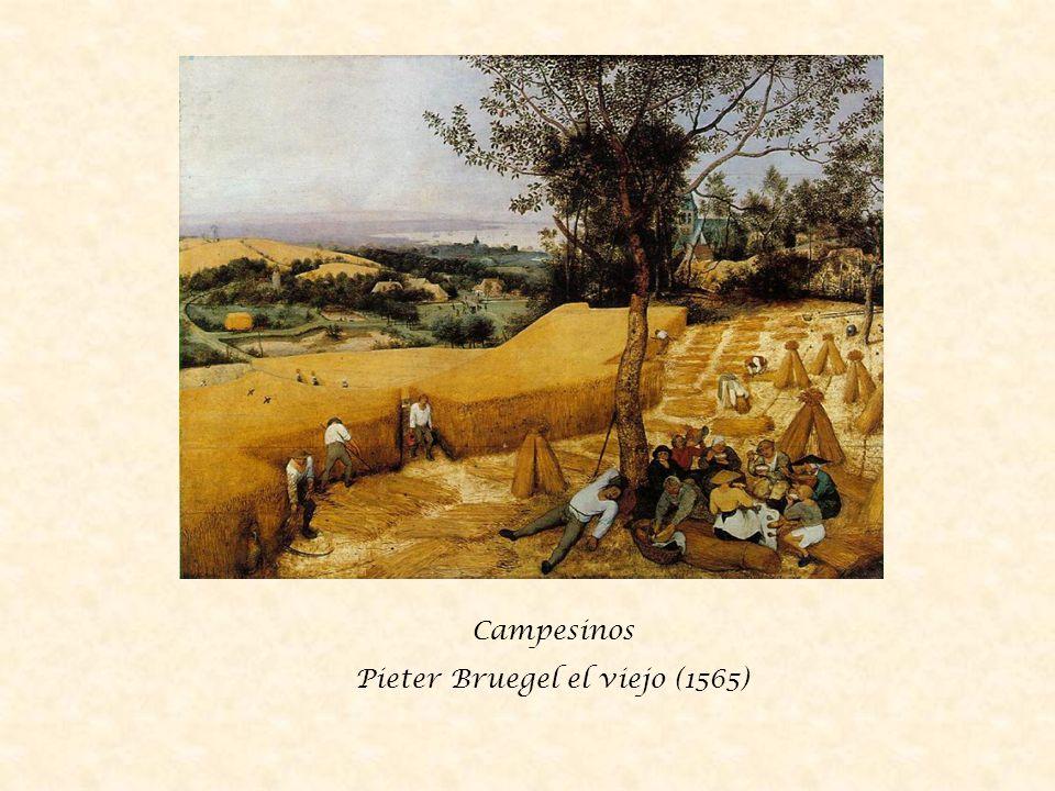 Campesinos Pieter Bruegel el viejo (1565)