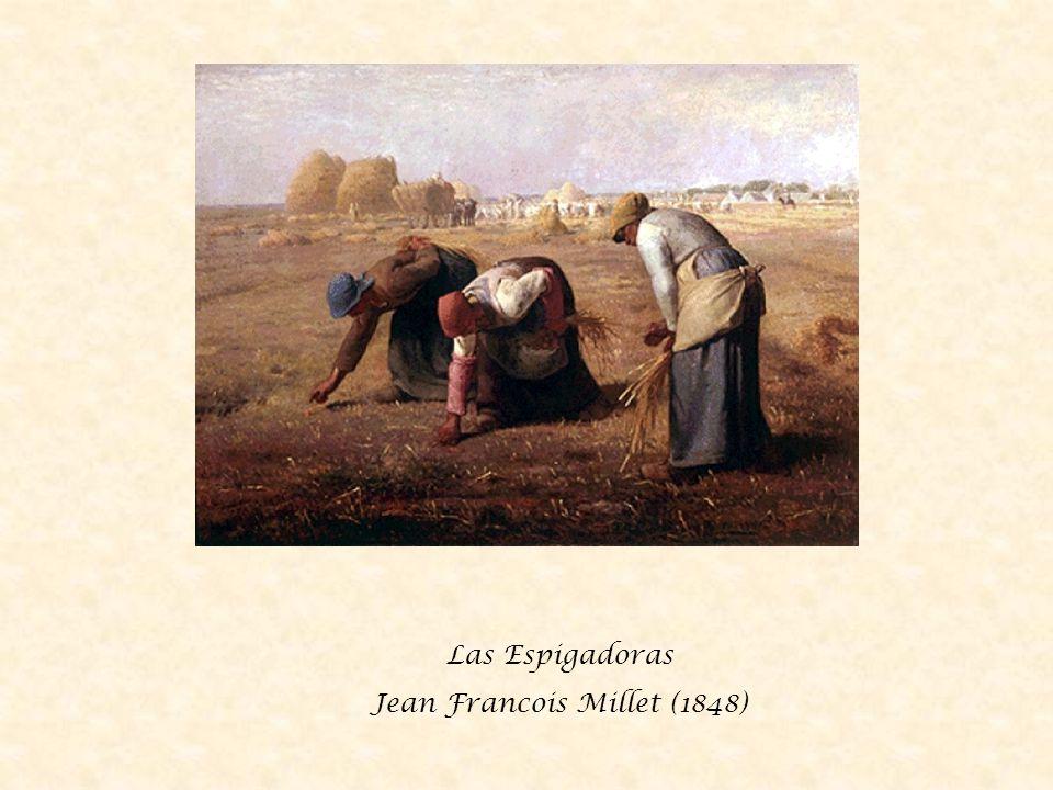 Las Espigadoras Jean Francois Millet (1848)