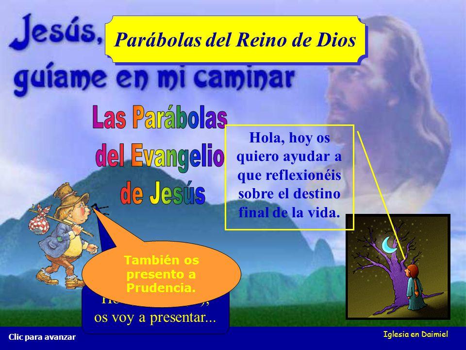 Iglesia en Daimiel La red de pesca Mt 13, 47-50 La red de pesca Mt 13, 47-50 Clic para avanzar Cuando la red ya está llena, la sacan a la orilla y se sientan a separar los pescados.
