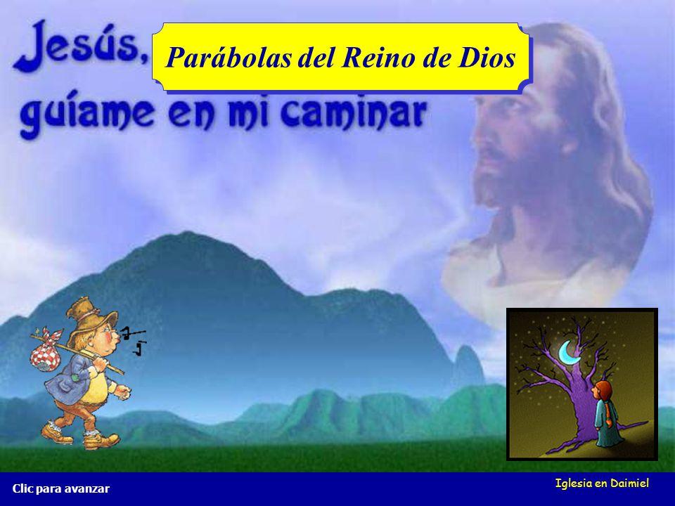 Iglesia en Daimiel La red de pesca Mt 13, 47-50 La red de pesca Mt 13, 47-50 Clic para avanzar ¿Excluye Dios a alguien del cielo?