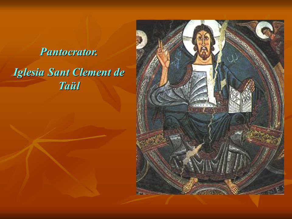 Pantocrator. Iglesia Sant Clement de Taül