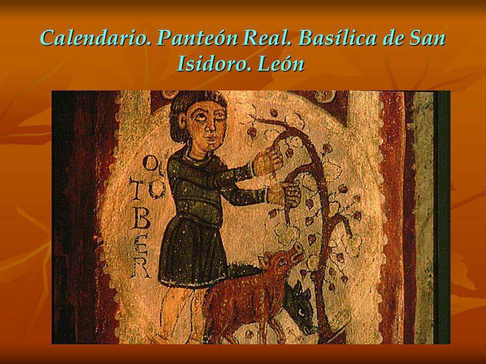 Calendario. Panteón Real. Basílica de San Isidoro. León