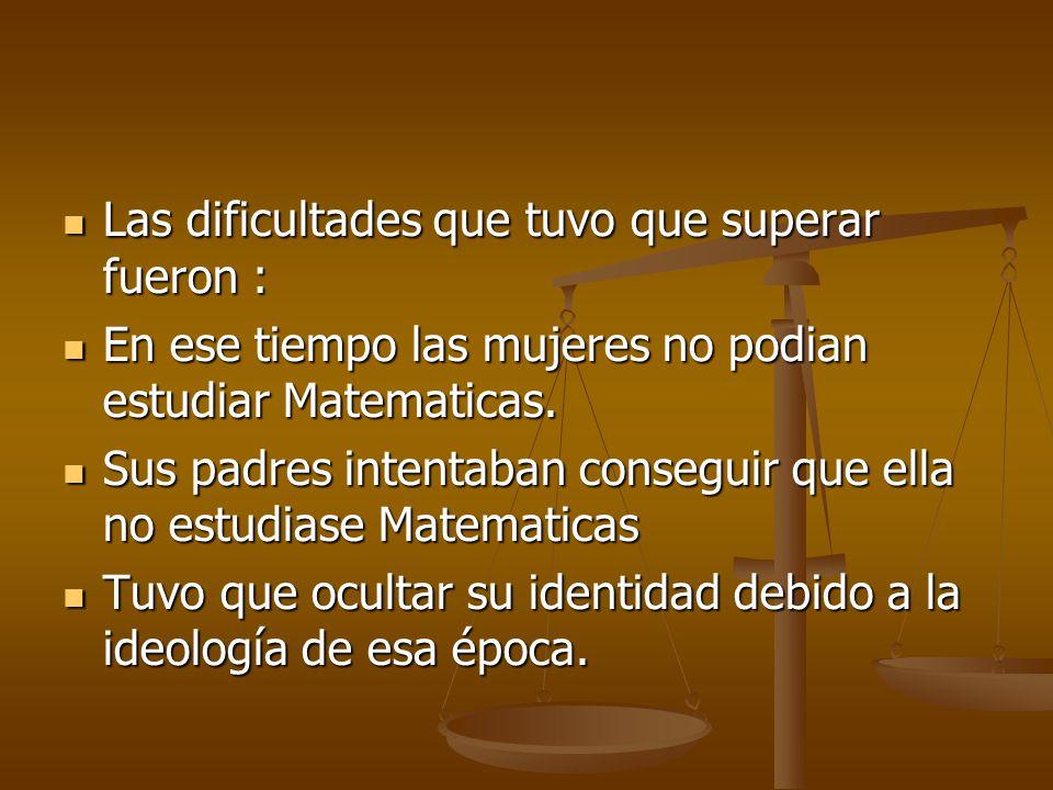 Aportaciones Matemáticas Resolvió el último teorema de Fermat para n<100 y a, b, c primos entre si (y para n=p-1, siendo p primo de la forma 8k+7) Resolvió el último teorema de Fermat para n<100 y a, b, c primos entre si (y para n=p-1, siendo p primo de la forma 8k+7) Introdujo el concepto de curvatura media (para el estudio anterior) Introdujo el concepto de curvatura media (para el estudio anterior) Contribuyó al estudio de la acústica y la elasticidad.