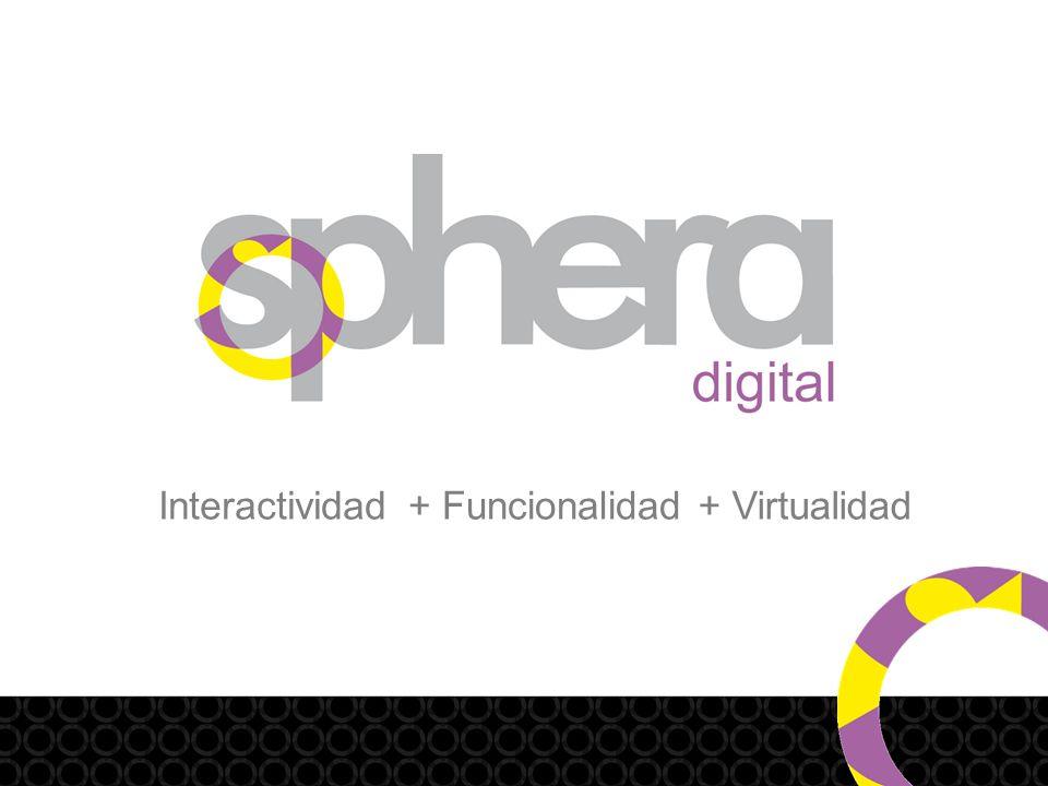 Interactividad+ Virtualidad+ Funcionalidad
