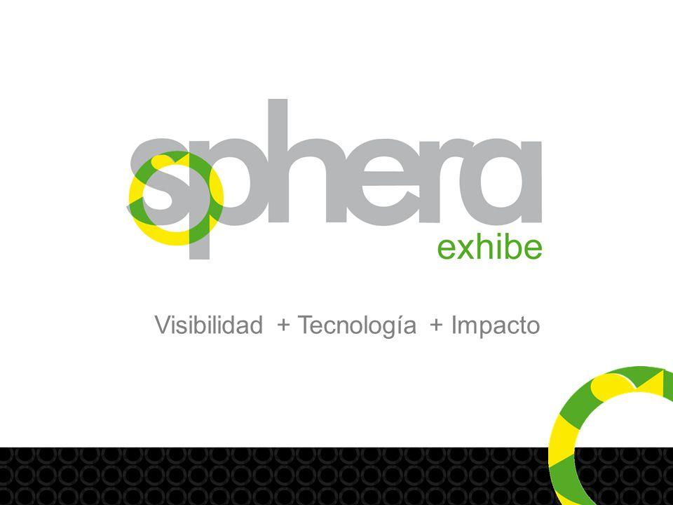 Visibilidad+ Impacto+ Tecnología