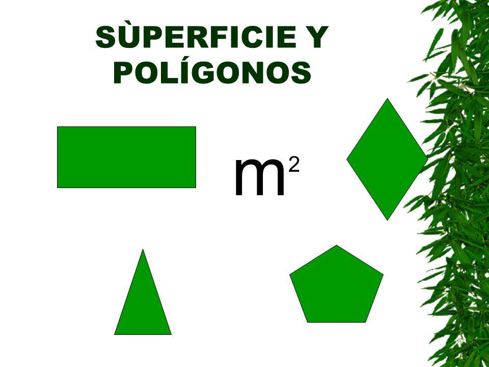 Polígonos regulares e irregulares Decimos que un polígono es REGULAR si tiene todos sus lados y sus ángulos iguales.