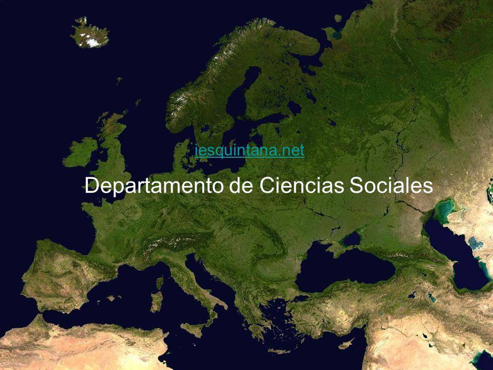 iesquintana.net Departamento de Ciencias Sociales