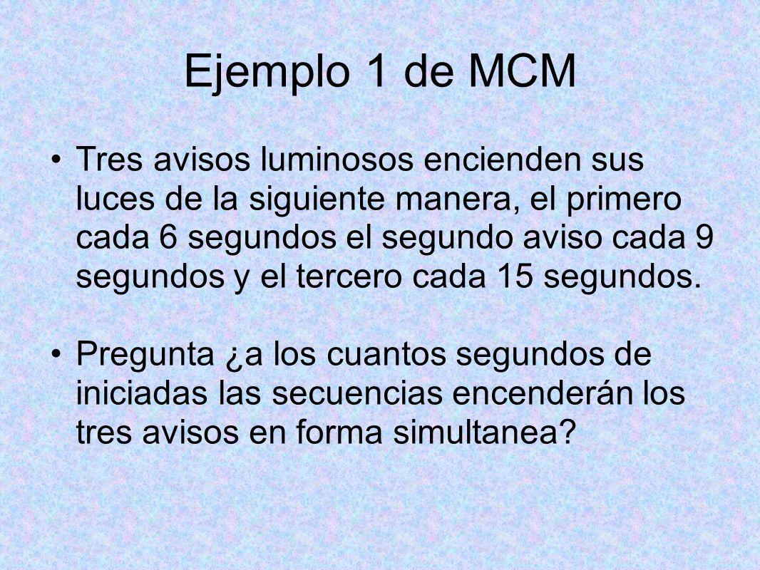 Respuesta del M.C.M.