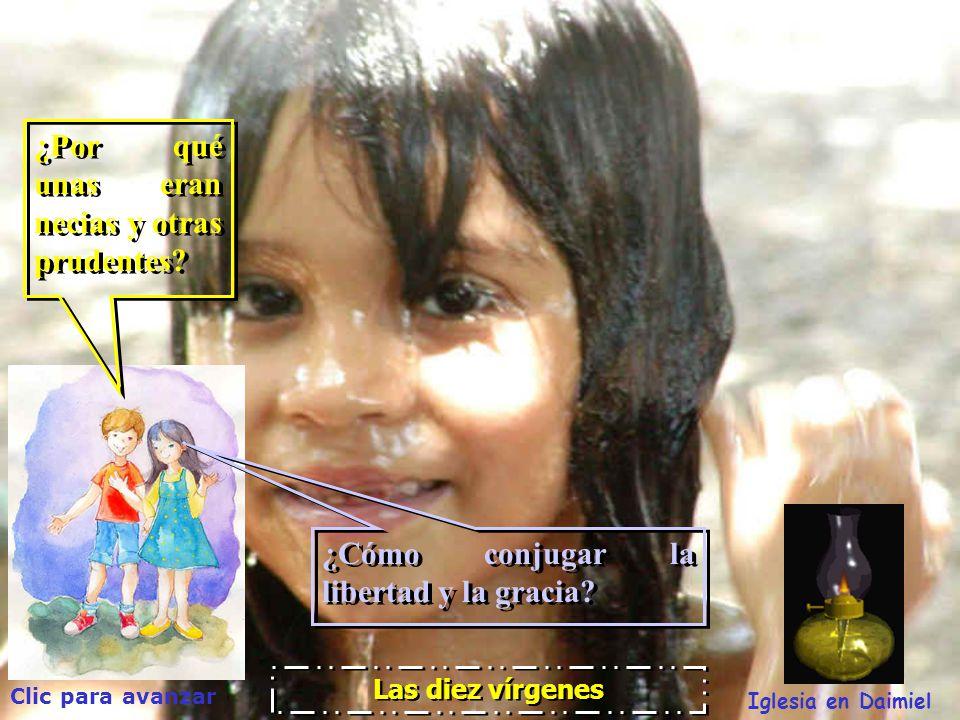 Clic para avanzar Iglesia en Daimiel Las diez vírgenes