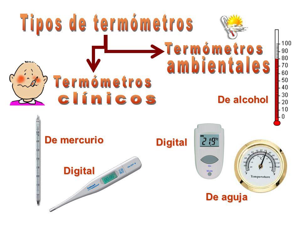 De mercurio Digital De alcohol Digital De aguja