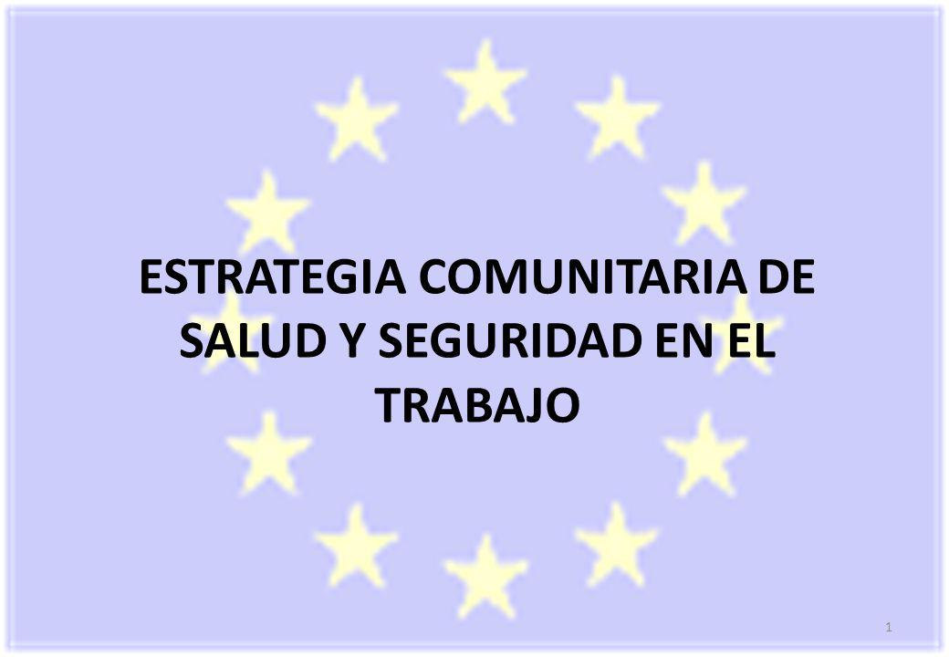 1 ESTRATEGIA COMUNITARIA DE SALUD Y SEGURIDAD EN EL TRABAJO