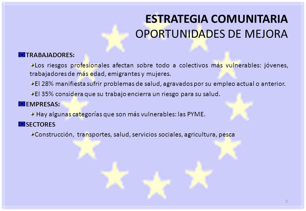 14 Informe Scoreboard 2009 OBJETIVOS COMUNES DE LAS ESTRATEGIAS NACIONALES: Los E.M.