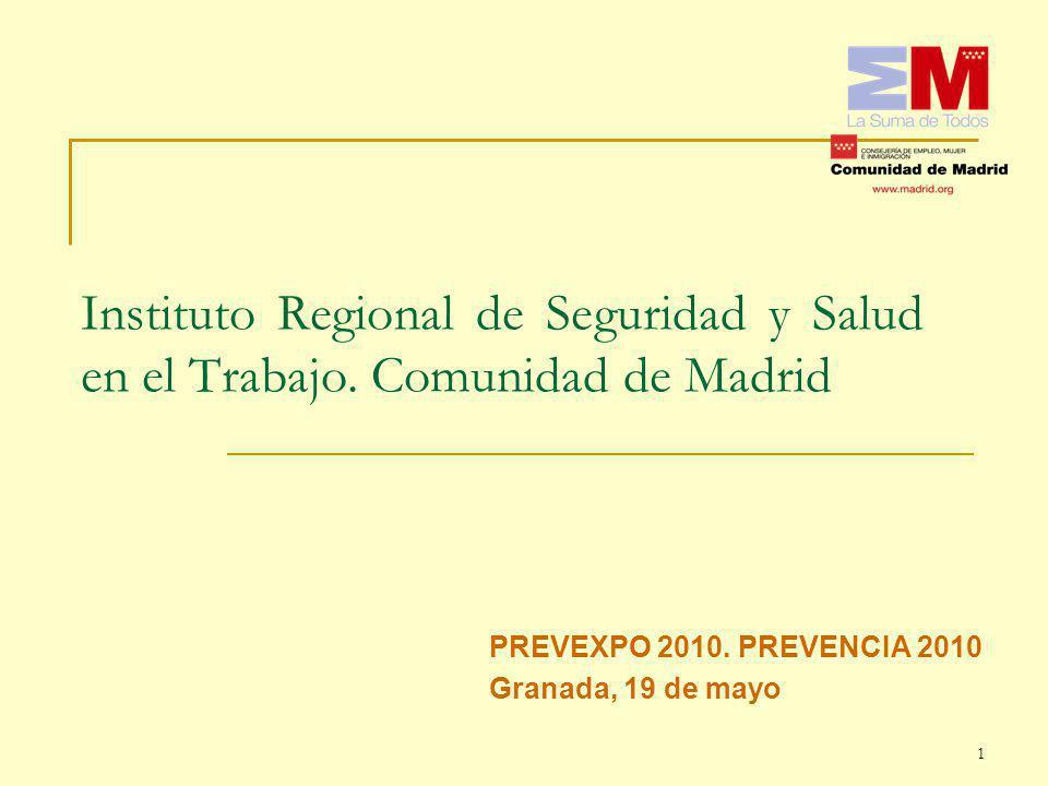 Instituto Regional de Seguridad y Salud en el Trabajo.