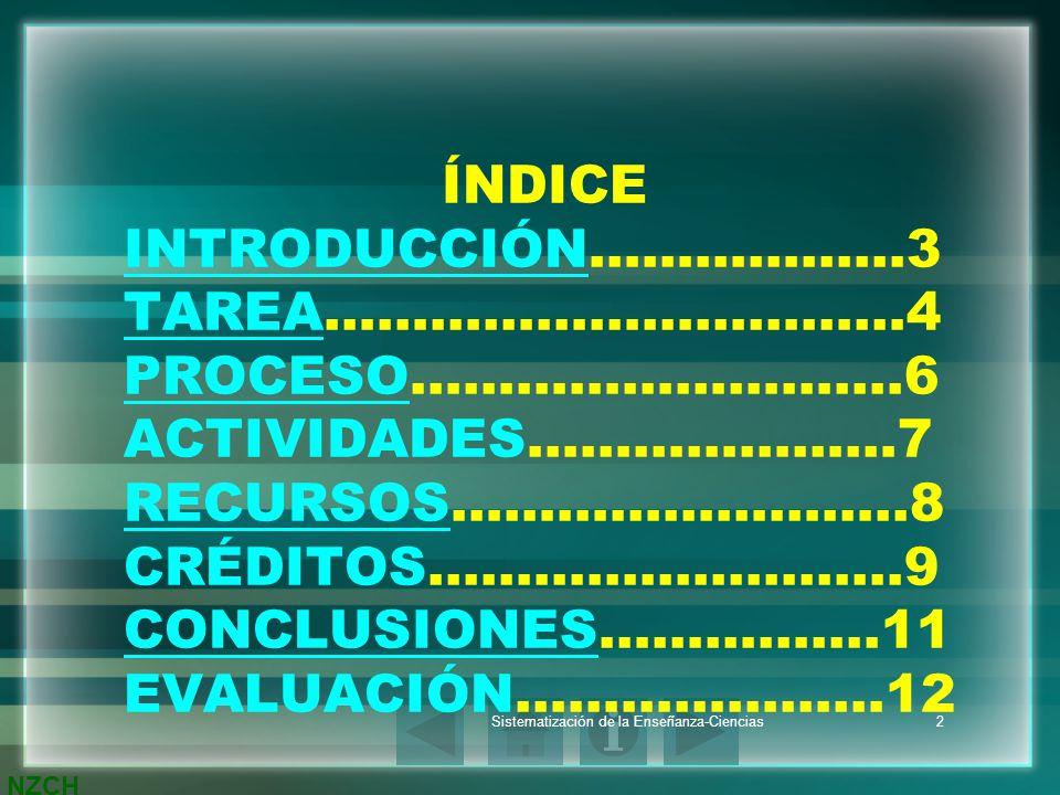 NZCH Sistematización de la Enseñanza-Ciencias3 INTRODUCCIÓN Los números enteros positivos que tiene dos divisores el 1 y su propio número se les llama números primos por ejemplo el 17 y el 13.