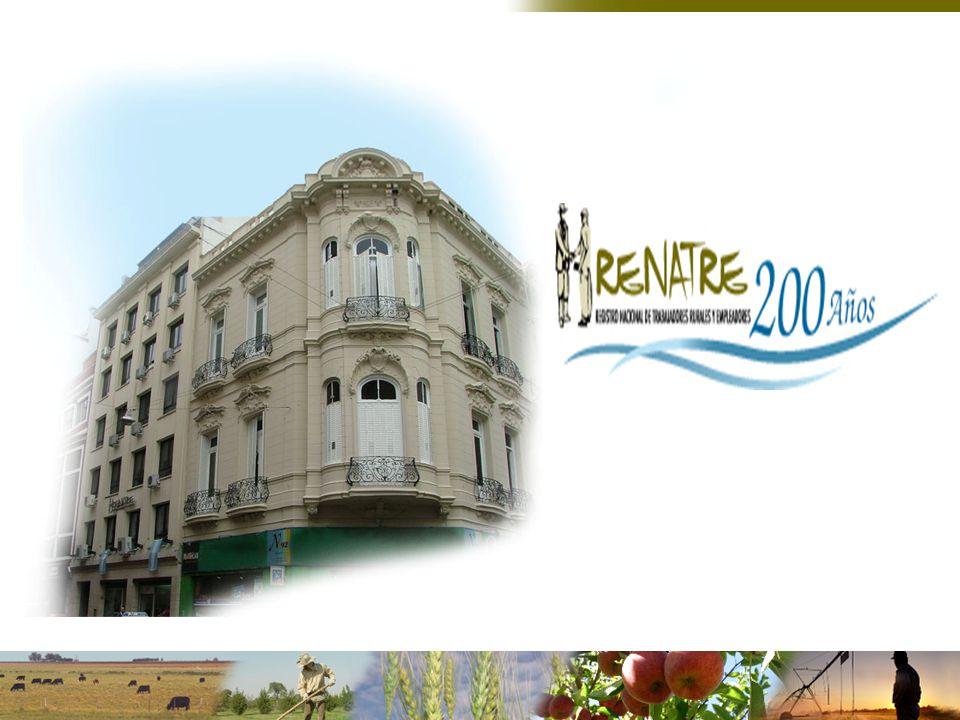 UNION ARGENTINA DE TRABAJADORES RURALES Y ESTIBADORES CONFEDERACIÓN INTERCOOPERATIVA AGROPECUARIA CONFEDERACIONES RURALES ARGENTINAS FEDERACIÓN AGRARIA ARGENTINA SOCIEDAD RURAL ARGENTINA RENATRE